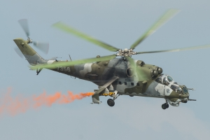 Czech Air Force/221.vrlt Mil Mi-24V © Gordon Jones - Global Aviation Resource