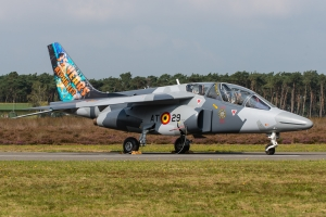 Belgian Air Force/35 Years of Alpha Jet operations and 10 Years of Advanced Jet Training School (AJeTS) © Gordon Jones - Global Aviation Resource