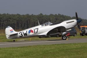 Royal Netherlands Air Force Historical Flight Spitfire LF.IXc © Tom Gibbons - Global Aviation Resource