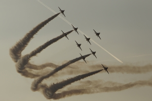 Royal Air Force Aerobatic Team, The Red Arrows © Tom Gibbons - Global Aviation Resource