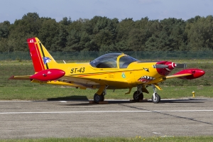 Belgian Air Force/9 Squadron SF-260M © Tom Gibbons - Global Aviation Resource