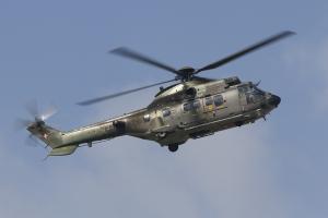 Swiss Air Force/Team Super Puma Demo AS532UL Cougar © Tom Gibbons - Global Aviation Resource