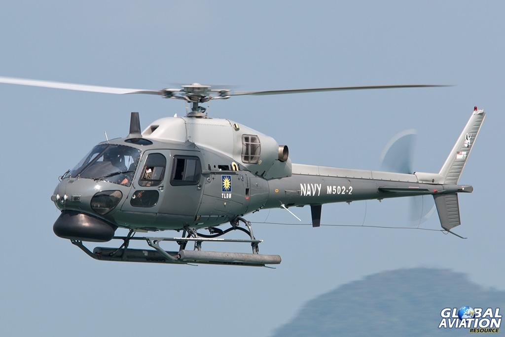 Royal Malaysian Navy AS555SN - © Paul Filmer - Global Aviation Resource