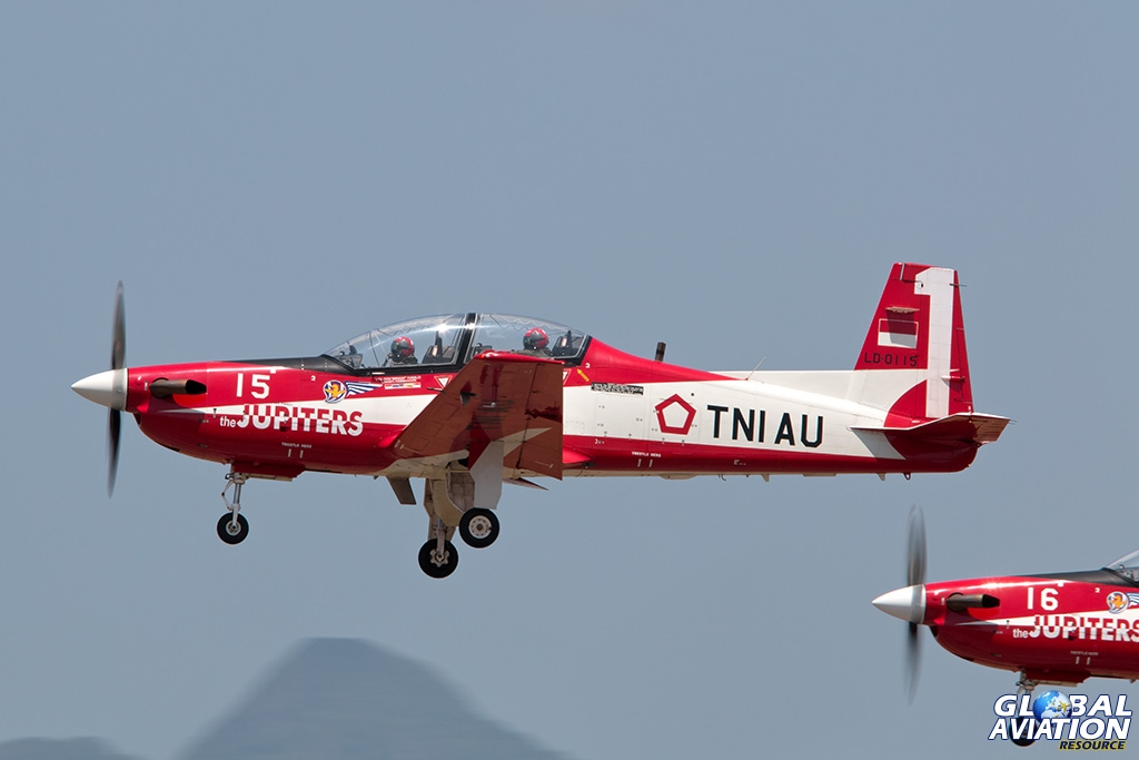 Indonesian Air Force KT-1B - © Paul Filmer - Global Aviation Resource
