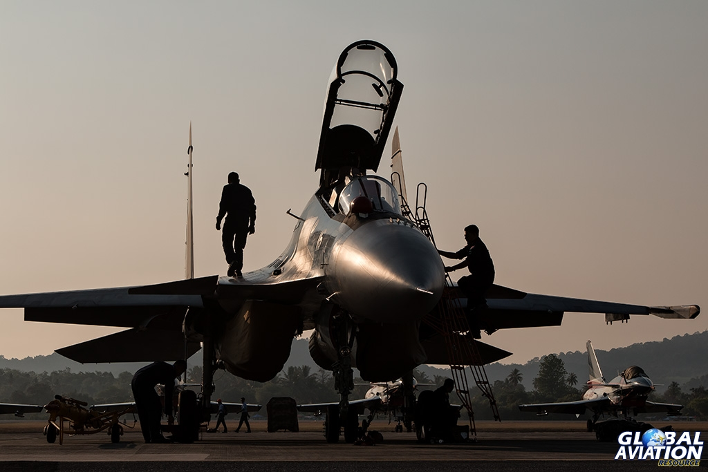 RMAF Su-30 - © Paul Filmer - Global Aviation Resource