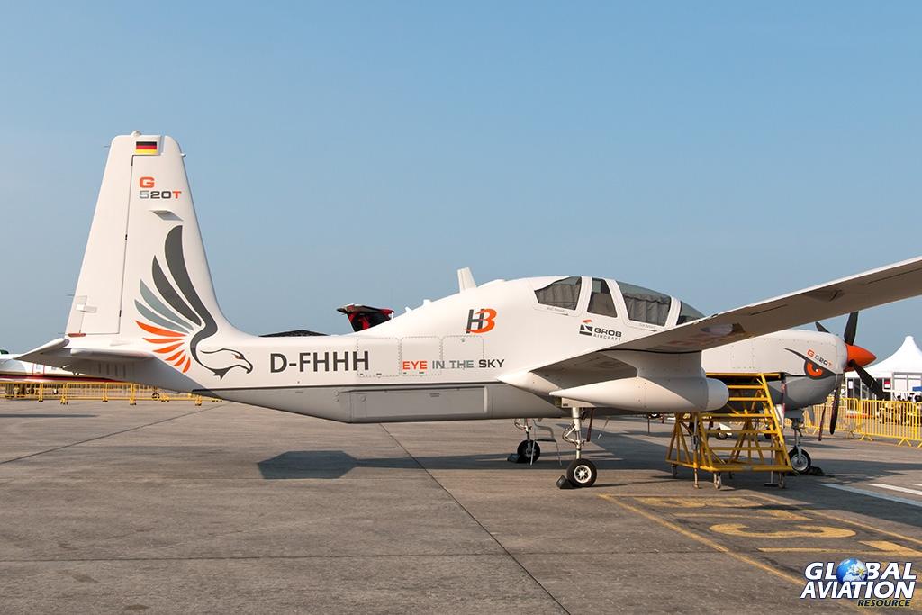 Grob G-520T - © Paul Filmer - Global Aviation Resource