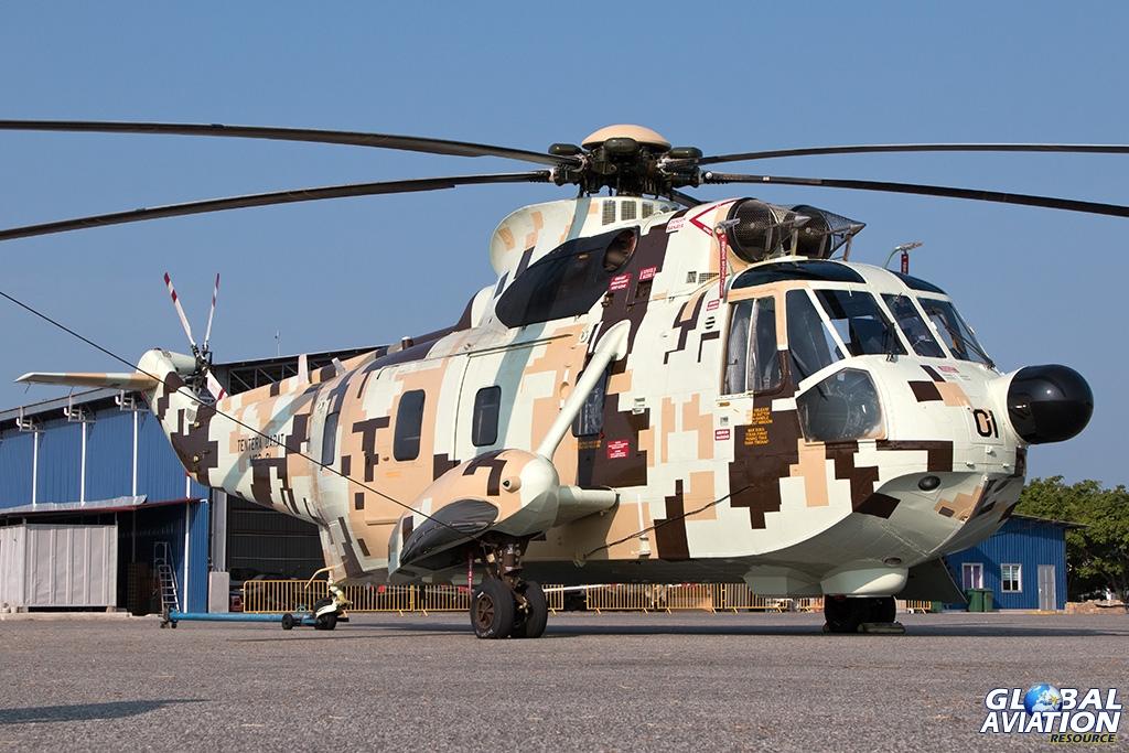 Royal Malaysian Army S-61A Nuri - © Paul Filmer - Global Aviation Resource
