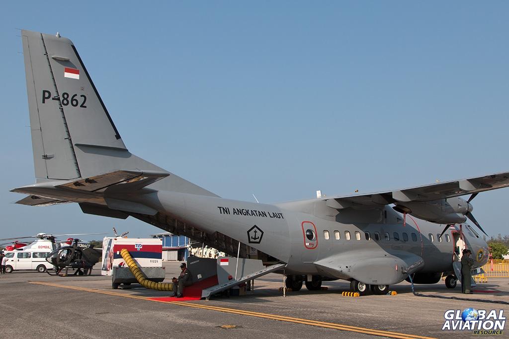Indonesian Navy CASA 295MPA - © Paul Filmer - Global Aviation Resource