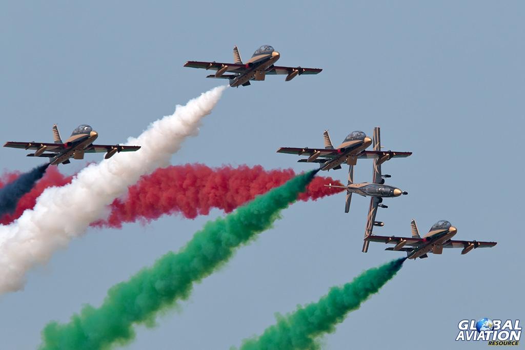 UAE Air Force MB-339 - © Paul Filmer - Global Aviation Resource