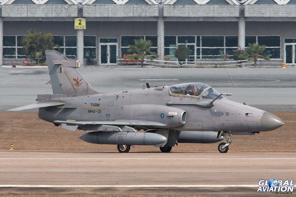 RMAF Hawk Mk208 - © Paul Filmer - Global Aviation Resource