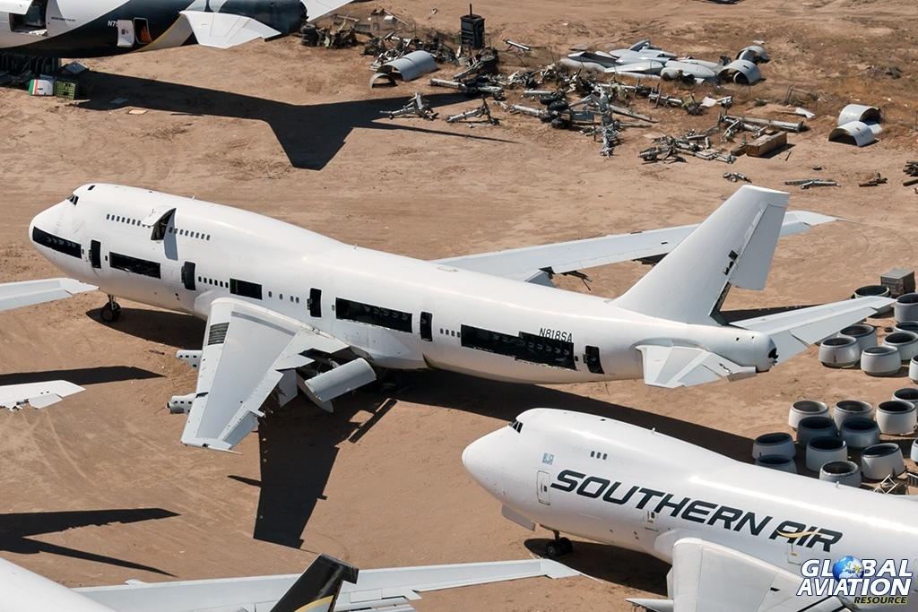 Southern Air Boeing 747-300 N818SA - © Paul Filmer - Global Aviation Resource