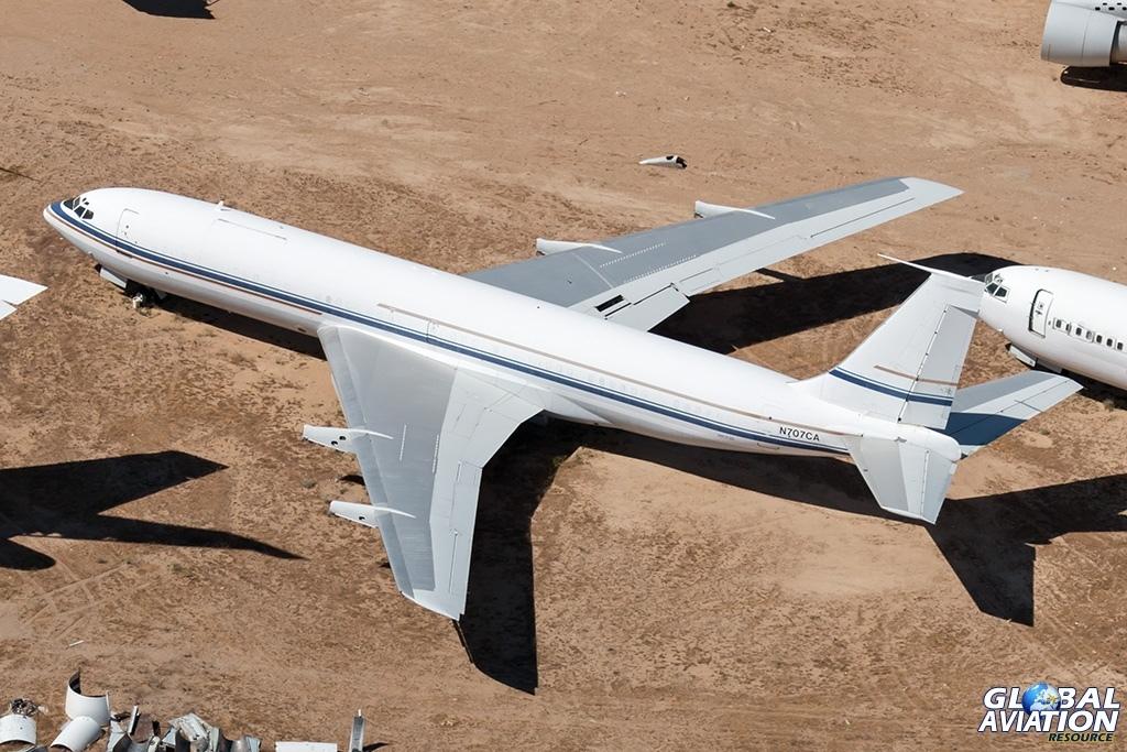 Boeing 707-300B N707CA - © Paul Filmer - Global Aviation Resource