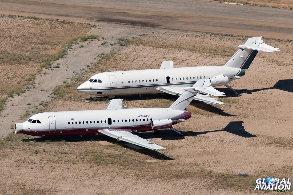 BAC111s N161NG and N111JX - © Paul Filmer - Global Aviation Resource