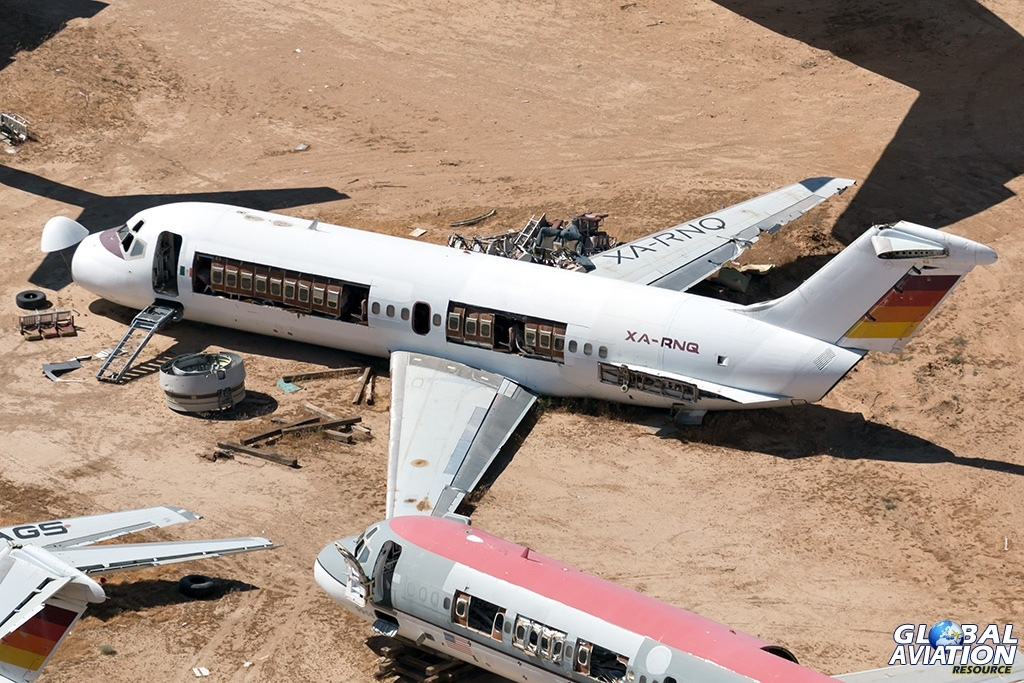 Aerocalifornia Servicios Aereos DC-9-15 XA-RNQ - © Paul Filmer - Global Aviation Resource