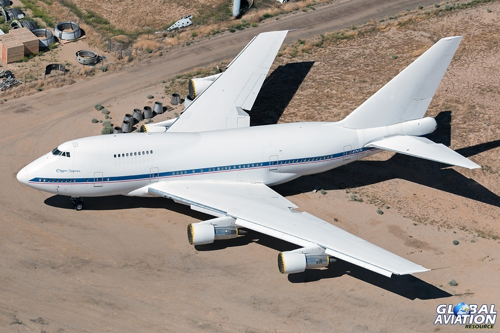 Fry's Boeing 747SP N747A - © Paul Filmer - Global Aviation Resource