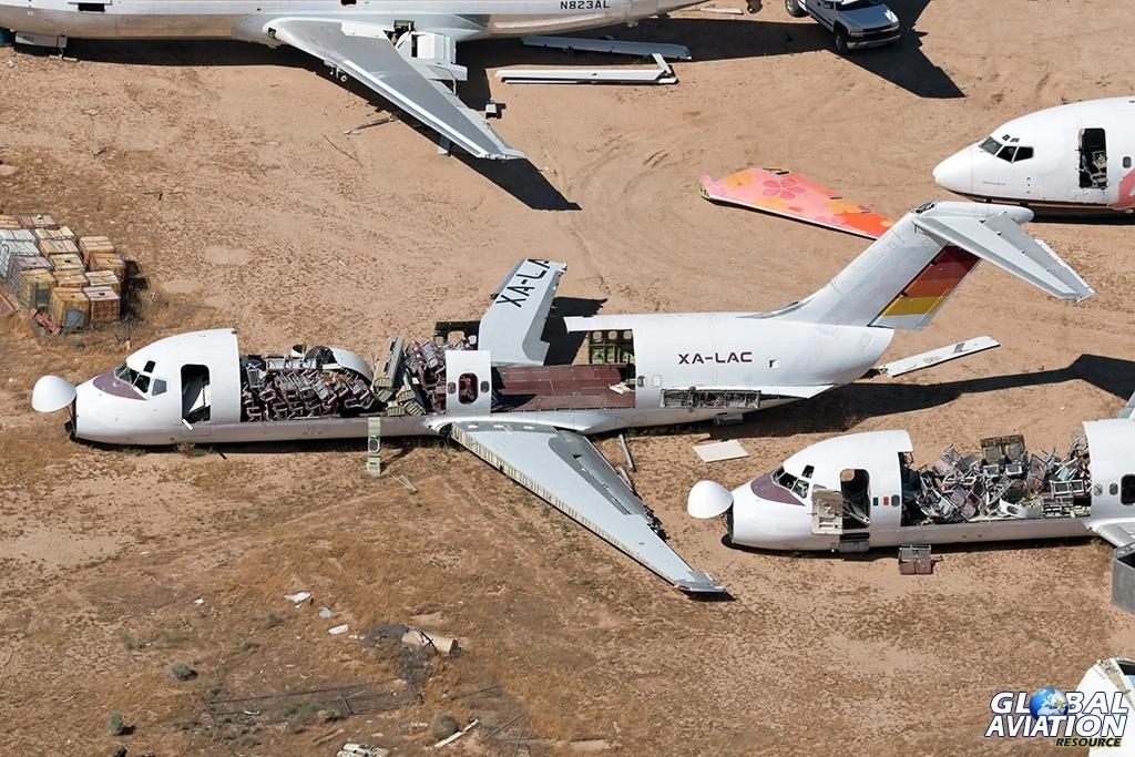 Aerocalifornia Servicios Aereos DC-9-15 XA-LAC - © Paul Filmer - Global Aviation Resource