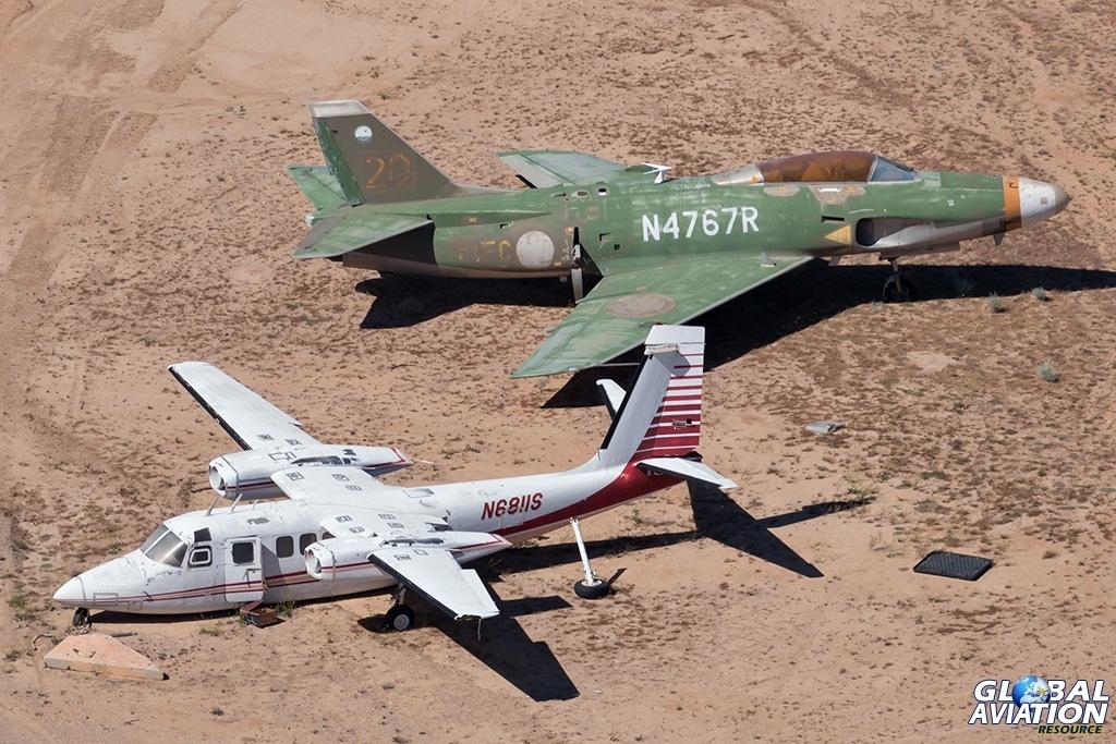 RC685 N6811S and Saab A32A Lansen N4767R - © Paul Filmer - Global Aviation Resource