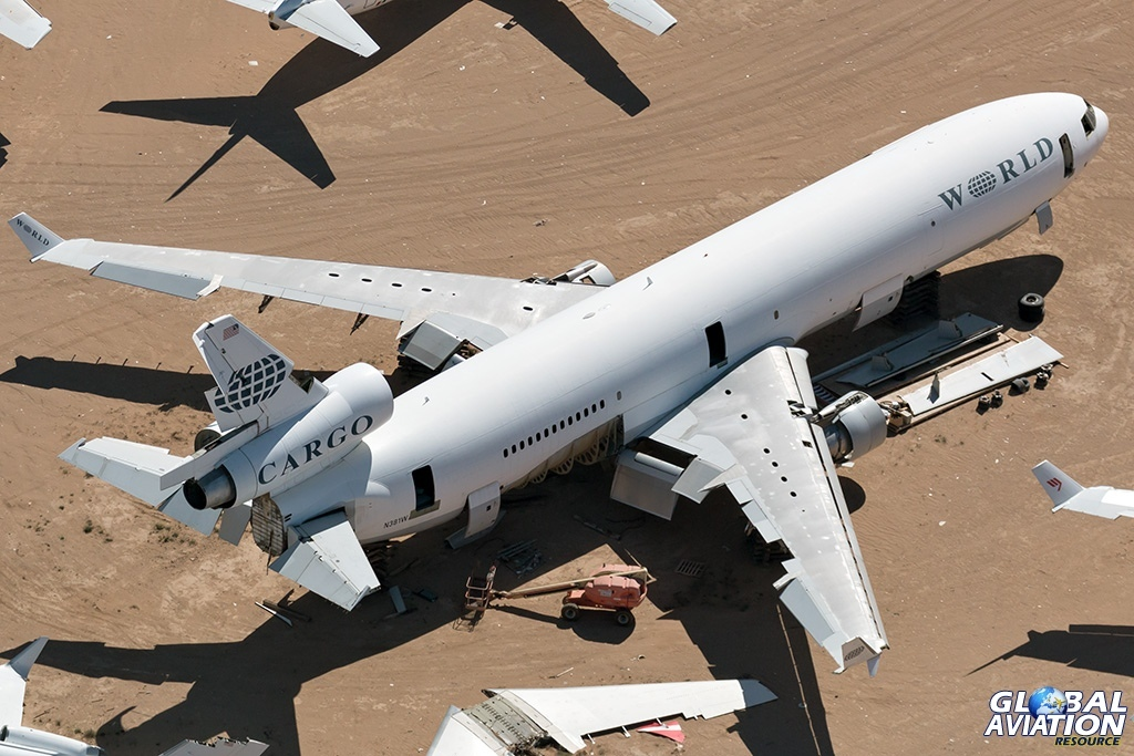 World Airways Cargo MD-11F N381WA - © Paul Filmer - Global Aviation Resource