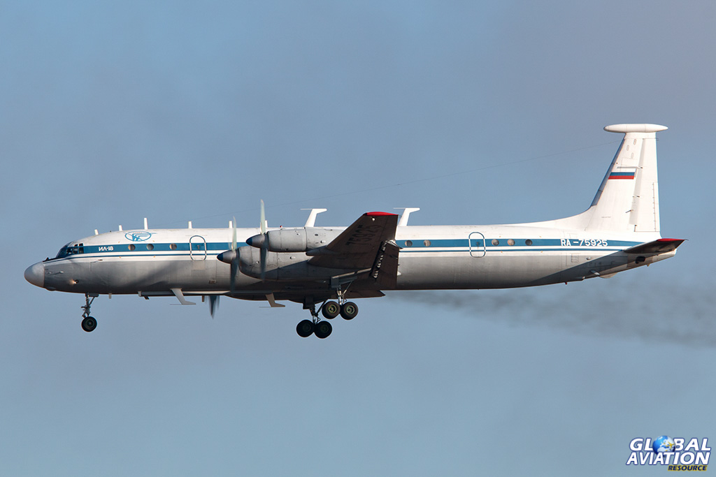 Russian Air Force Il-22M-11 on the go-around at Chkalovsky - © Paul Filmer - Global Aviation Resource