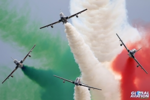 MB339A, Frecce Tricolori © Dean West – Global Aviation Resource