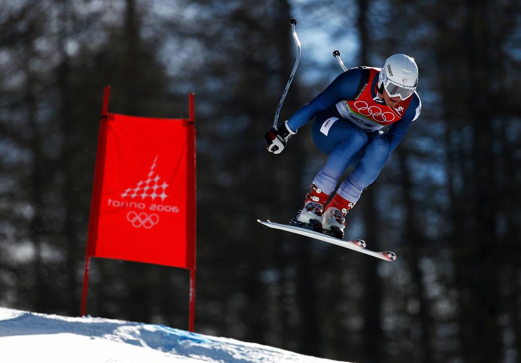 Olympic skier © Roger Cruickshank