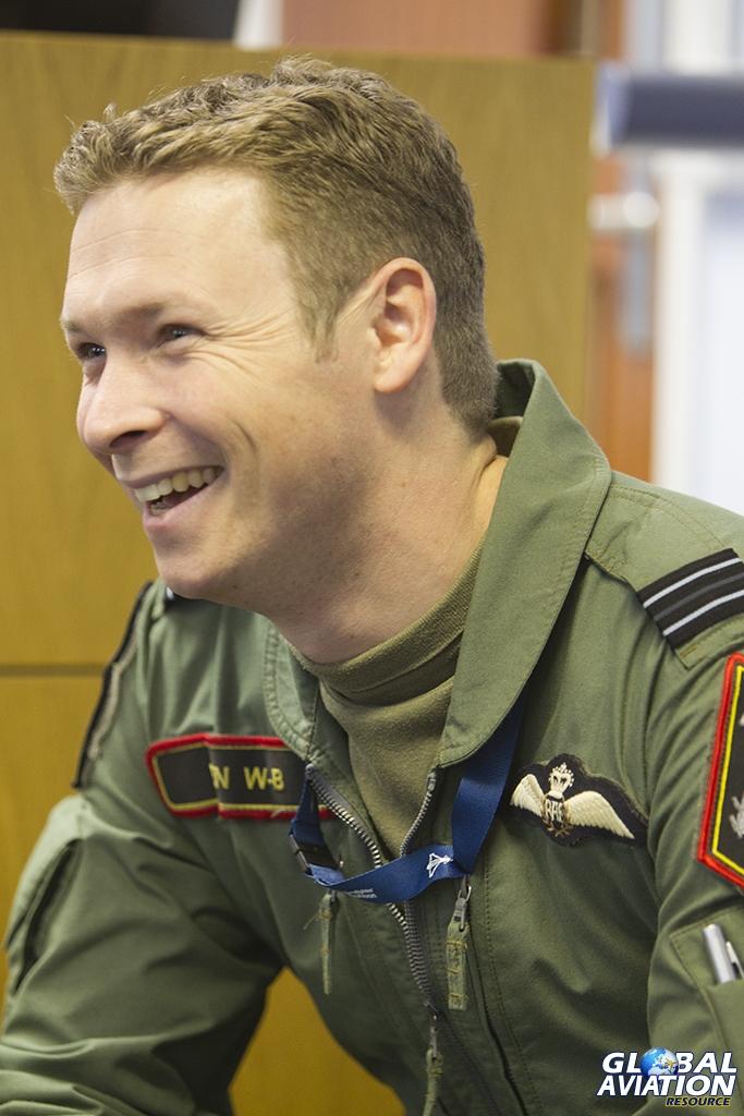 Flt Lt Ben Westoby-Brooks © Tom Gibbons - Global Aviation Resource