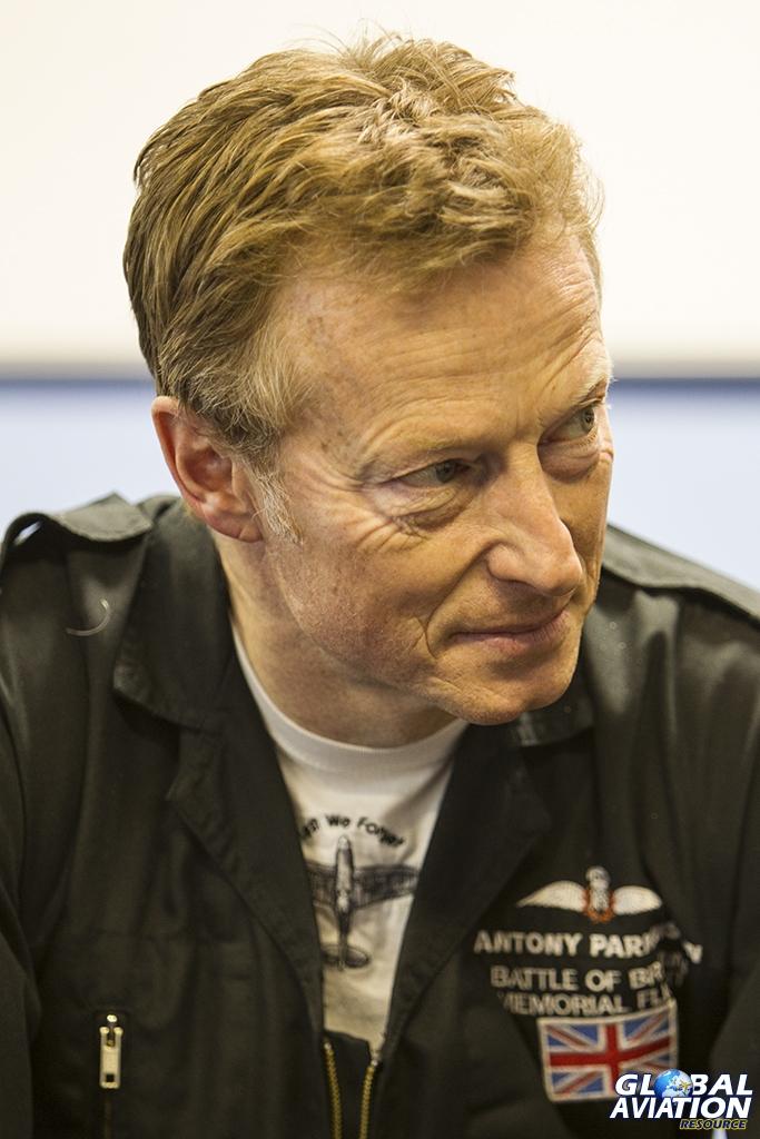 Flt Lt Antony Parkinson MBE © Tom Gibbons - Global Aviation Resource