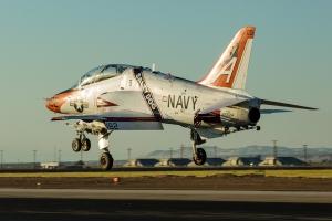 A squadron special lands at El Centro © Rob Edgcumbe - www.globalaviationresource.com