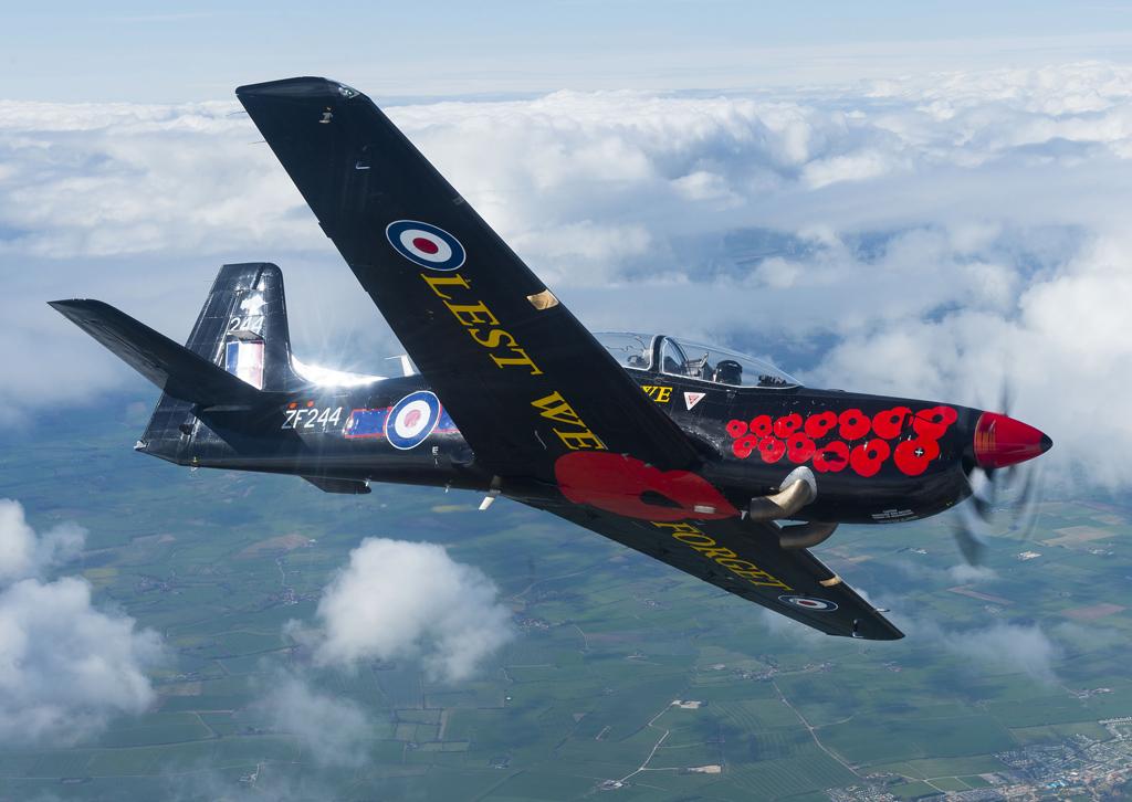 RAF Tucano © Tucano-Display-Team