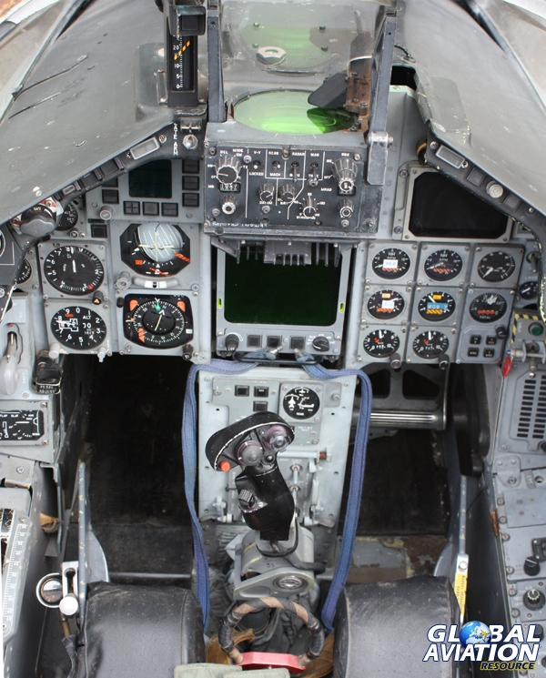 The front cockpit of a Tornado F3 © Dave Gledhill