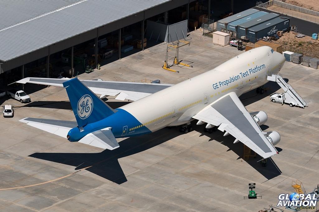 General Electric Boeing 747-100 N747GE - © Paul Filmer - Global Aviation Resource