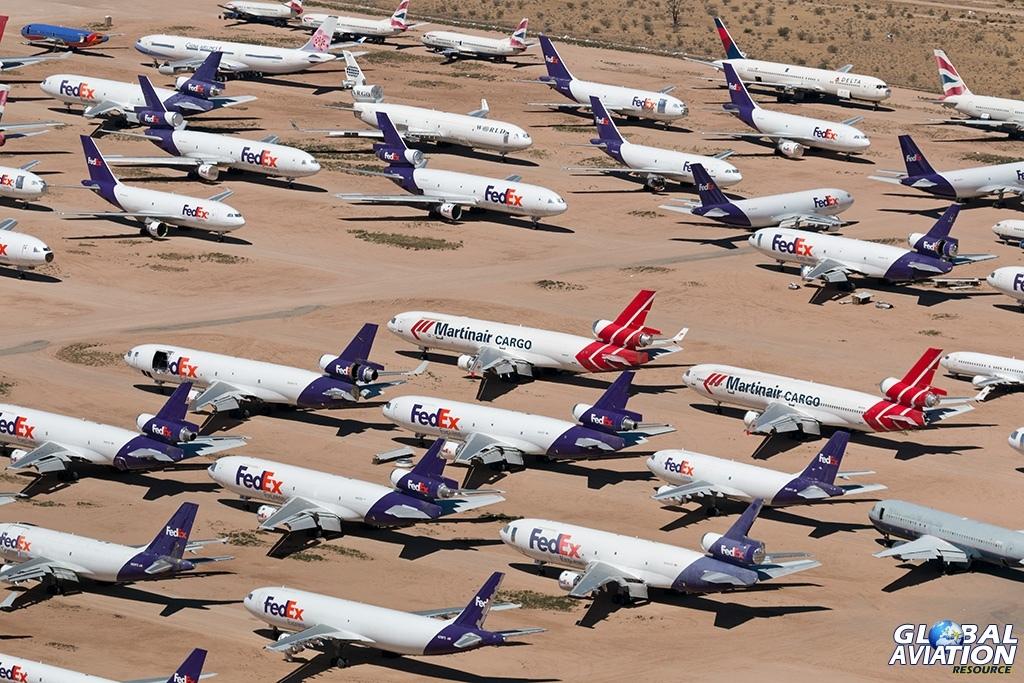 storage area overview - © Paul Filmer - Global Aviation Resource