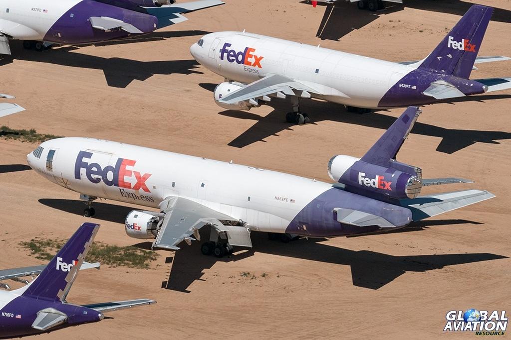 FedEx MD-10-10F N569FE - © Paul Filmer - Global Aviation Resource