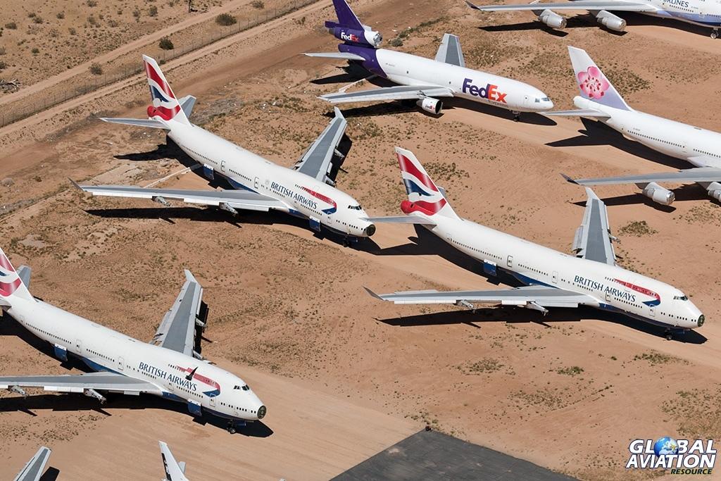 British Airways Boeing 747-400s - © Paul Filmer - Global Aviation Resource