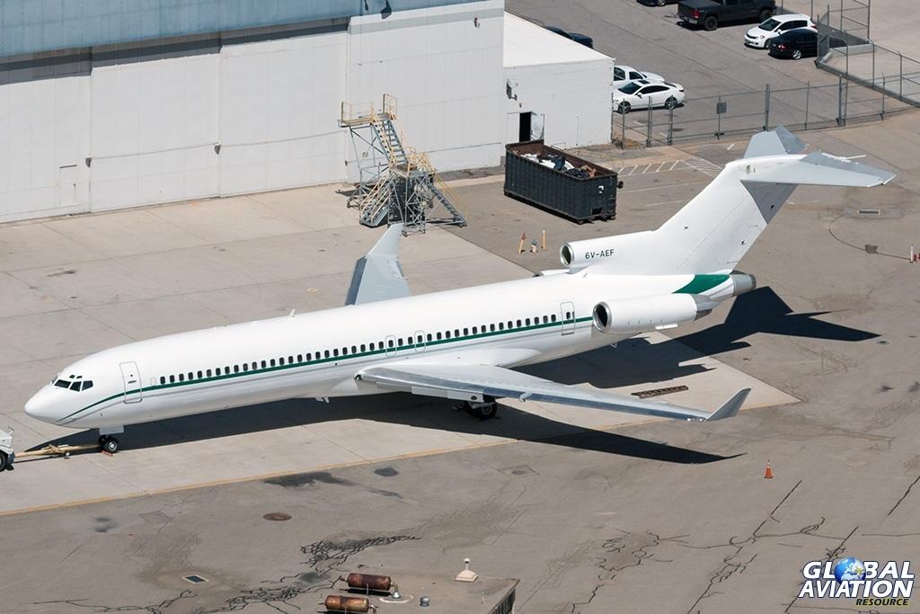 Government of Senegal Boeing 727-200 6V-AEF - © Paul Filmer - Global Aviation Resource