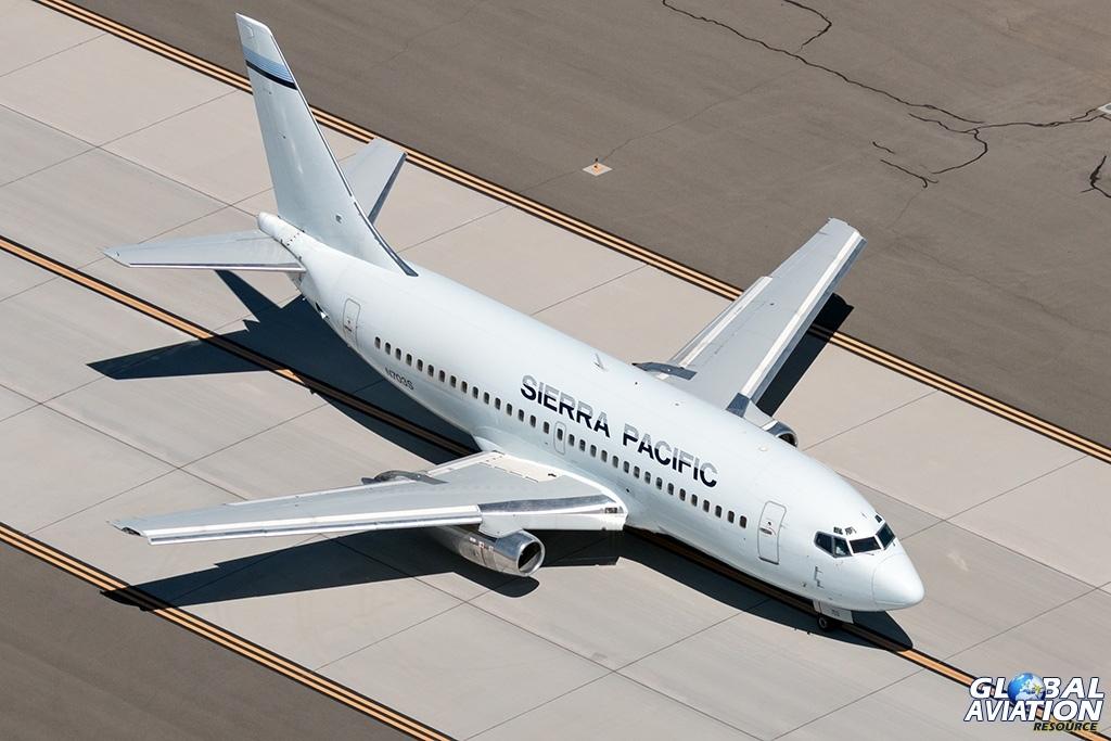 Sierra Pacific Airlines Boeing 737-200 N703S - © Paul Filmer - Global Aviation Resource