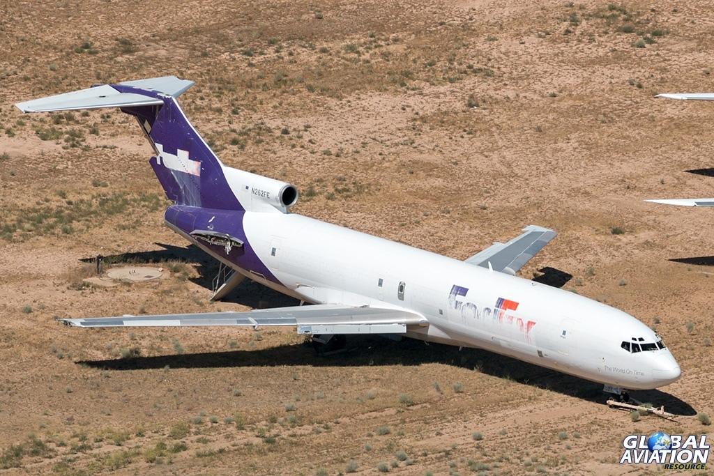 FedEx Boeing 727-200F N262FE - © Paul Filmer - Global Aviation Resource