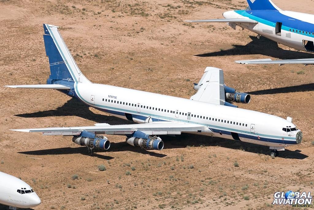 ex South African Air Force Boeing 707-300C N707SE - © Paul Filmer - Global Aviation Resource