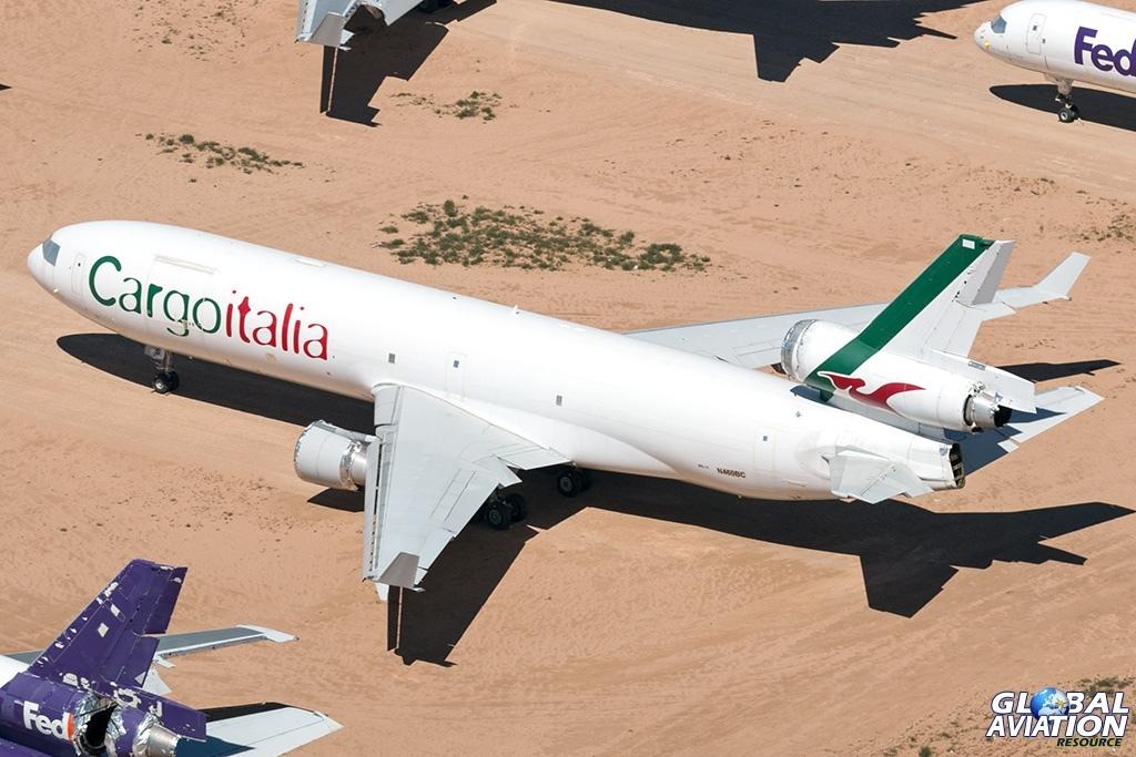 Cargoitalia MD-11F N460BC - © Paul Filmer - Global Aviation Resource
