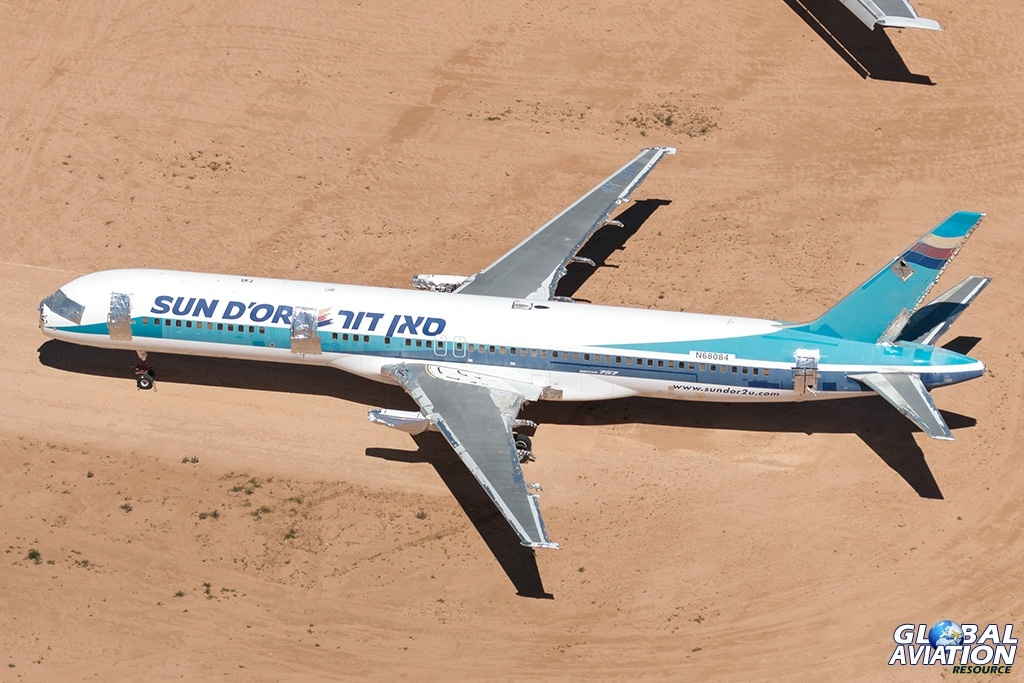 Sun d'Or International Airlines Boeing 757-200ER N68084 - © Paul Filmer - Global Aviation Resource