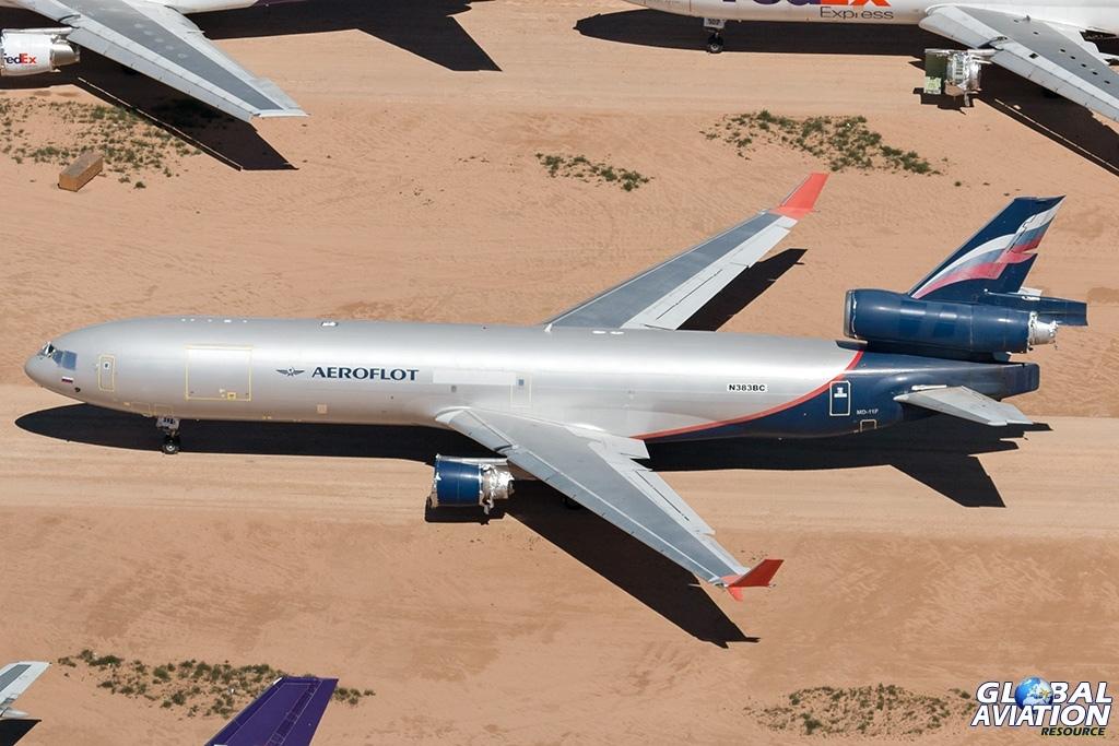 Aeroflot MD-11F N383BC - © Paul Filmer - Global Aviation Resource