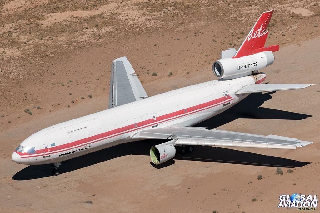 Deta Air DC-10-40F UP-DC102 - © Paul Filmer - Global Aviation Resource