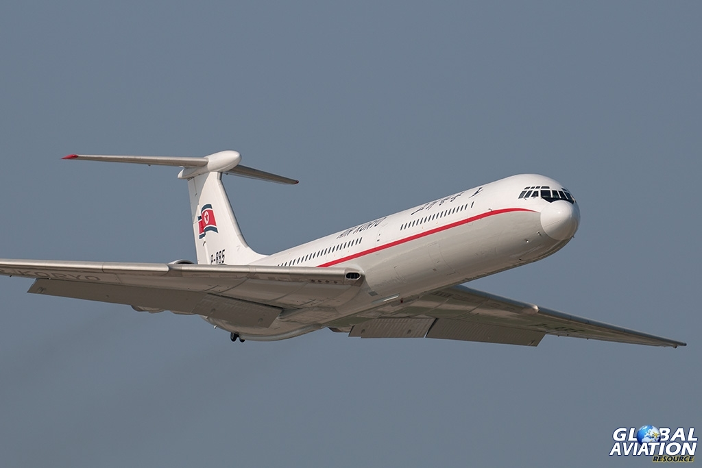 Air Koryo Il-62M - © Paul Filmer - Global Aviation Resource