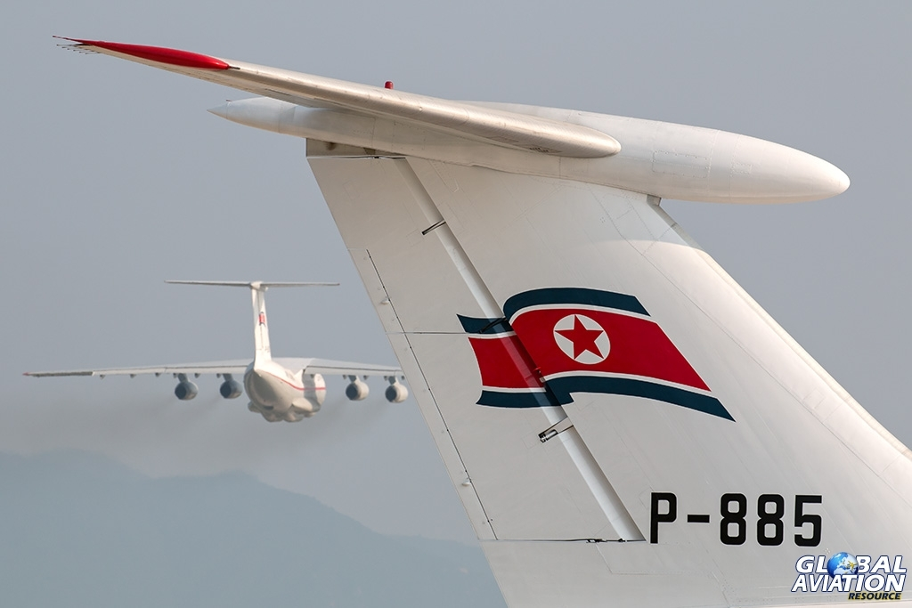 Air Koryo Il-62M and Il-76TD - © Paul Filmer - Global Aviation Resource