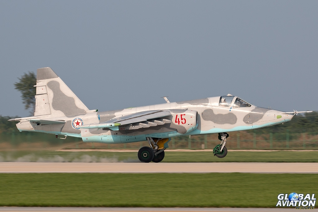 KPAAF Su-25 - © Paul Filmer - Global Aviation Resource