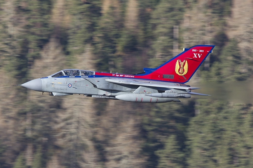 A first low level sortie for the newly painted special © Tom Gibbons - Global Aviation Resource
