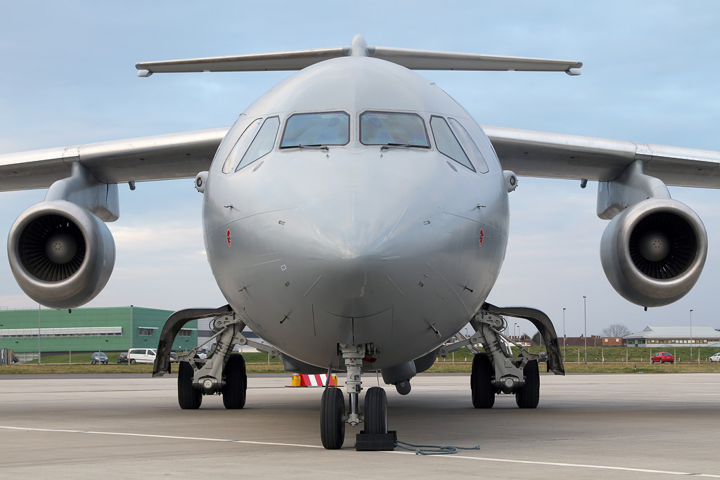 Aviation Feature – The RAF's new BAe 146 C Mk3