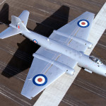 Aviation News: New colours for Midair Squadron's Canberra PR9 XH134 / G-OMHD