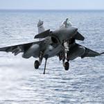 Military Exercise – 11 Flottille's Rafales work-up on R91, Charles de Gaulle