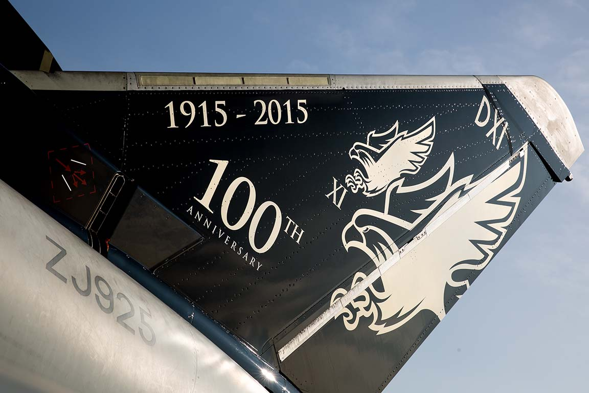 Aviation News – Centenary tail art for XI Squadron at RAF Coningsby